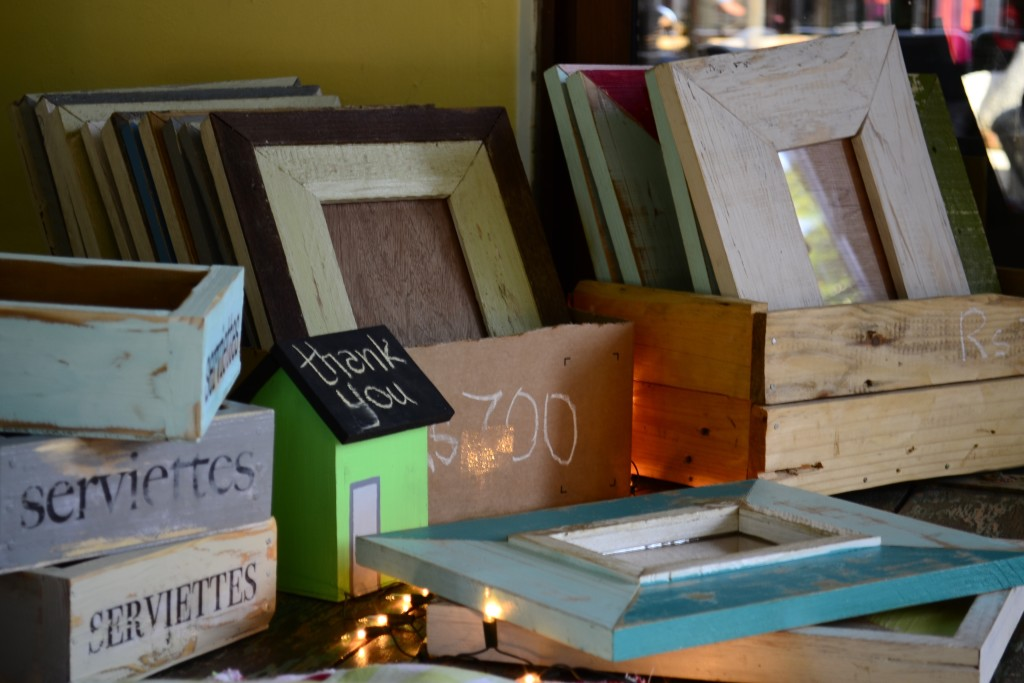 Frames and boxes